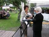 Nagrodę odbiera mgr Anna Kanafek