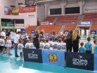 Zmagania sportowe przedszkolaków zMnicha