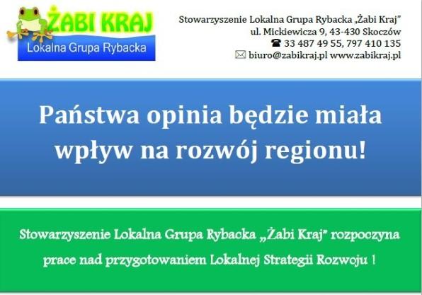 Stowarzyszenie Lokalna Grupa Rybacka ˝Żabi Kraj˝ - ANKIETA