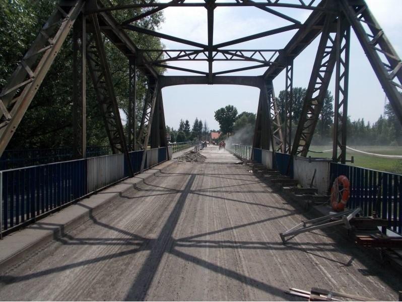 Modernizacja mostu na Wiśle wStrumieniu-wydłużenie czasu zamknięcia obiektu dla ruchu kołowego